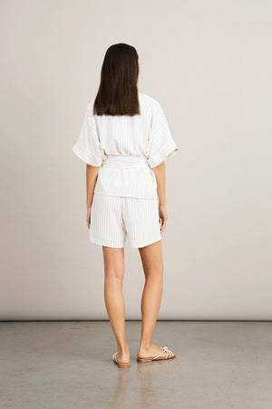 Stylein Boca Shorts Pinstripe - Mojo Independent Store
