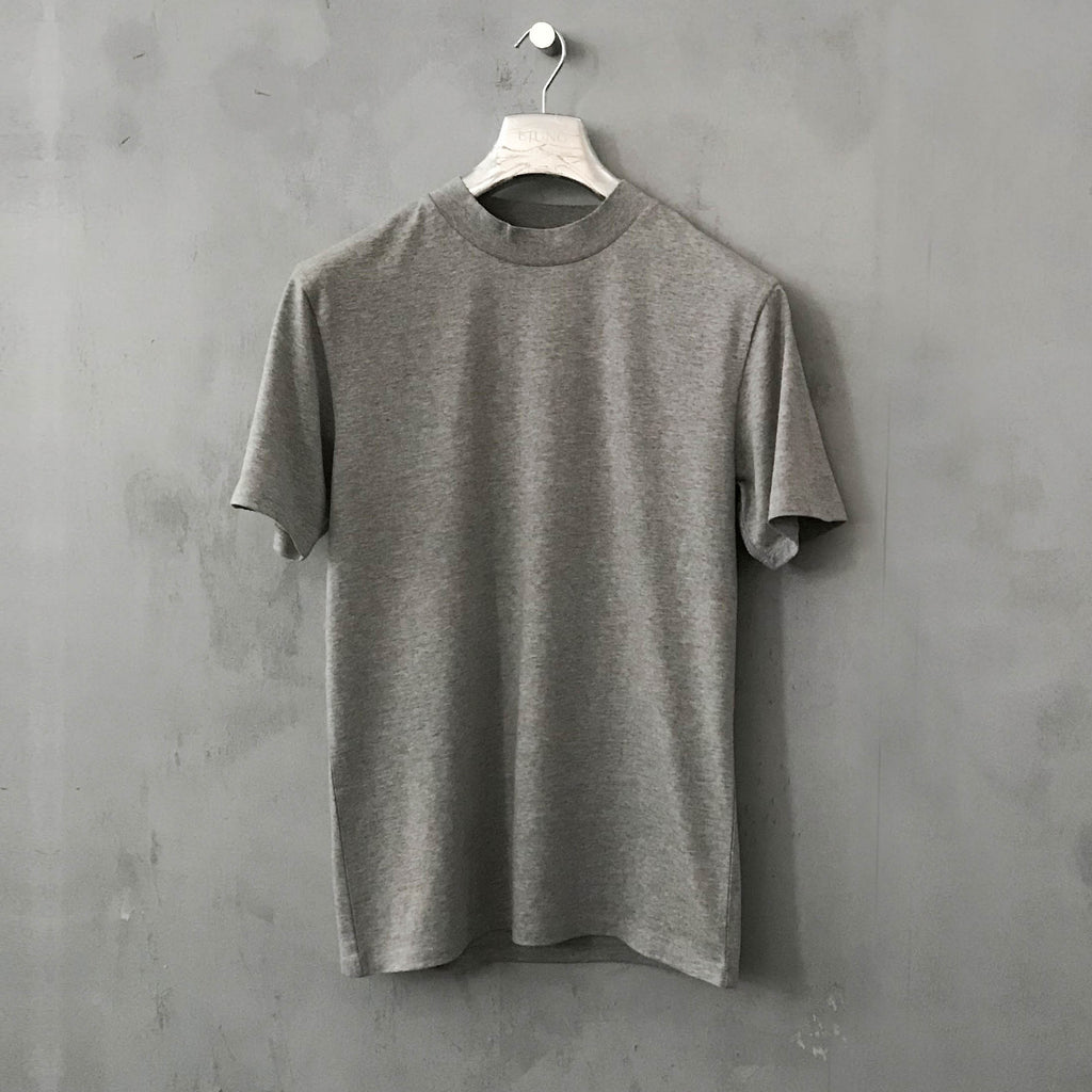 Ljung Heavy Tee LT Grey Mel - Mojo Independent Store