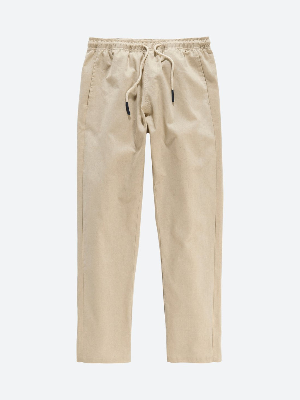 Oas Beige Linen Long Pant - Mojo Independent Store