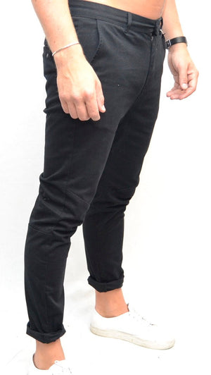 Red Collar Project Aron Trouser Black