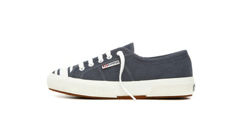 Superga Fancoto Sofi Blue-White Stripes - Mojo Independent Store