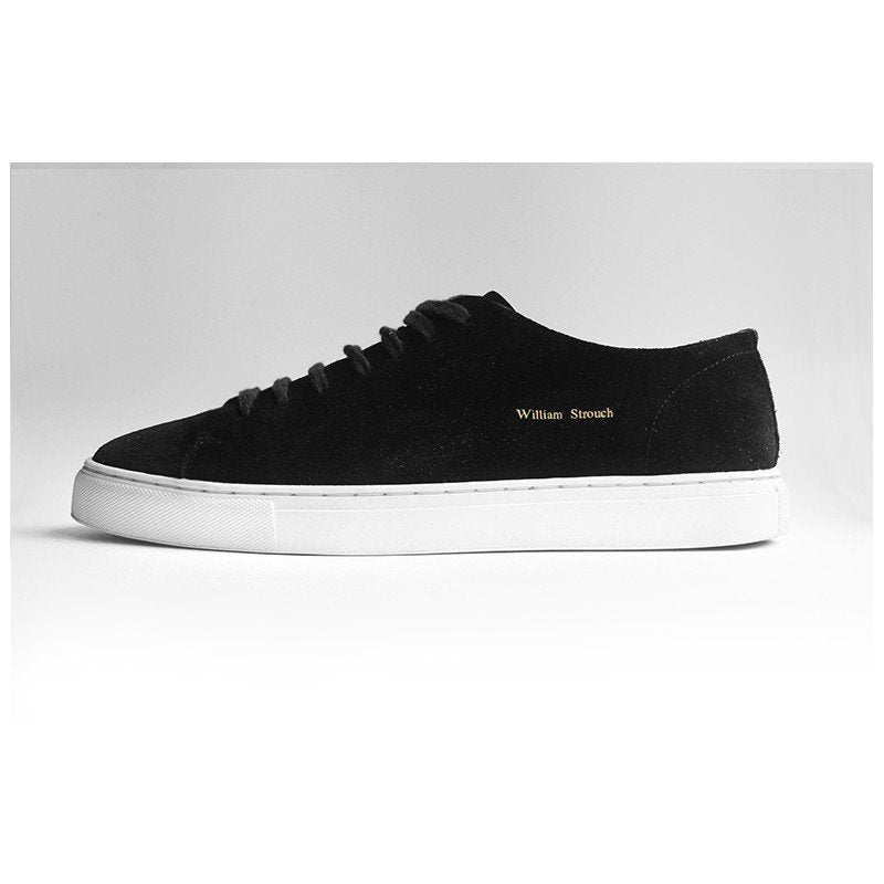 William Strouch black Classic Suede Sneakers - Mojo Independent Store