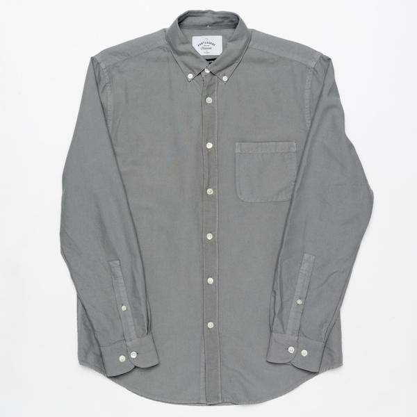 Portuguese Flannel Belavista LS Grey - Mojo Independent Store