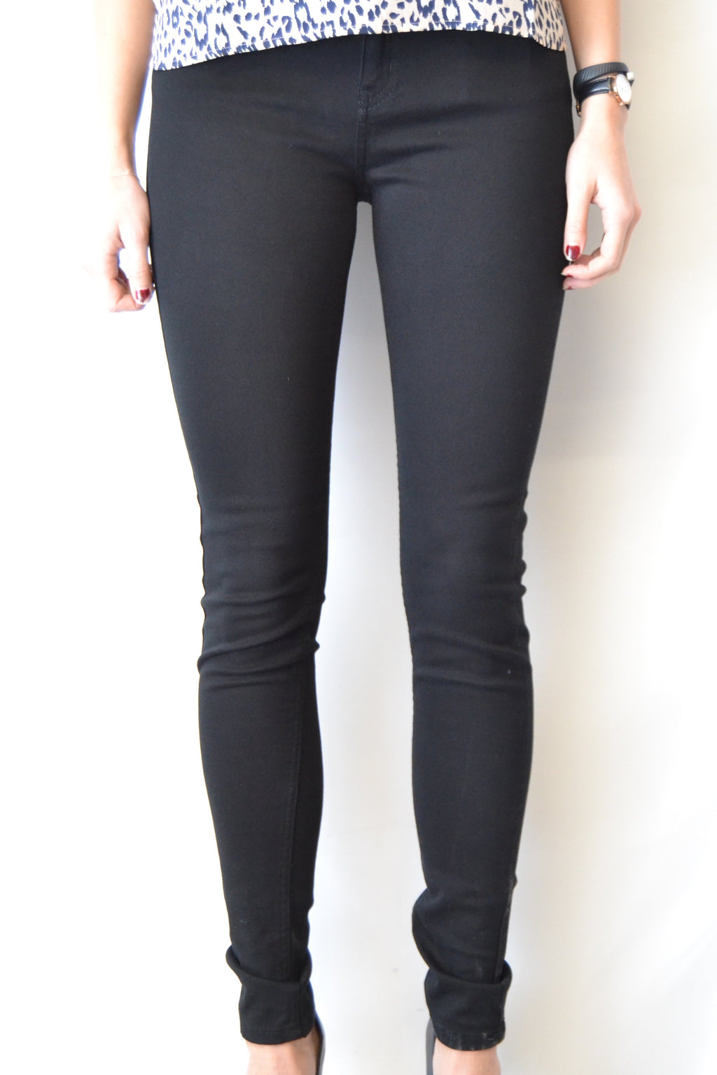 Just Female Stroke Jeans black twill