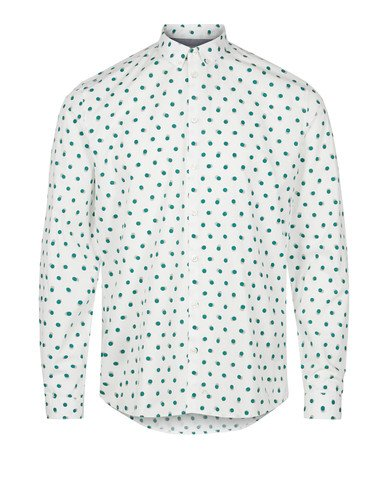 Minimum Crest Shirt Green Dot - Mojo Independent Store