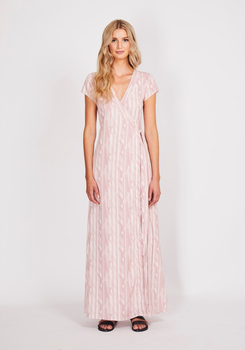Dry Lake Nikolina Long Dress Sail Away Print - Mojo Independent Store