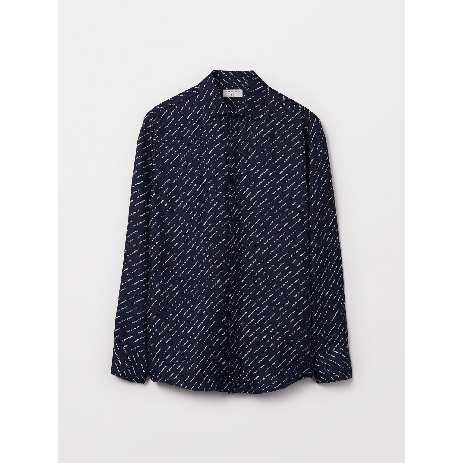 Tiger Of Sweden Ferris Shirt Navy - Mojo Independent Store
