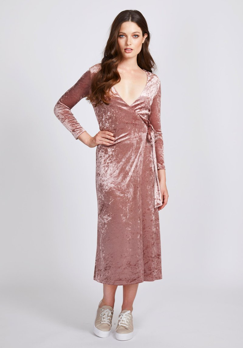 Dry Lake Sandy Wrap Dress - Mojo Independent Store