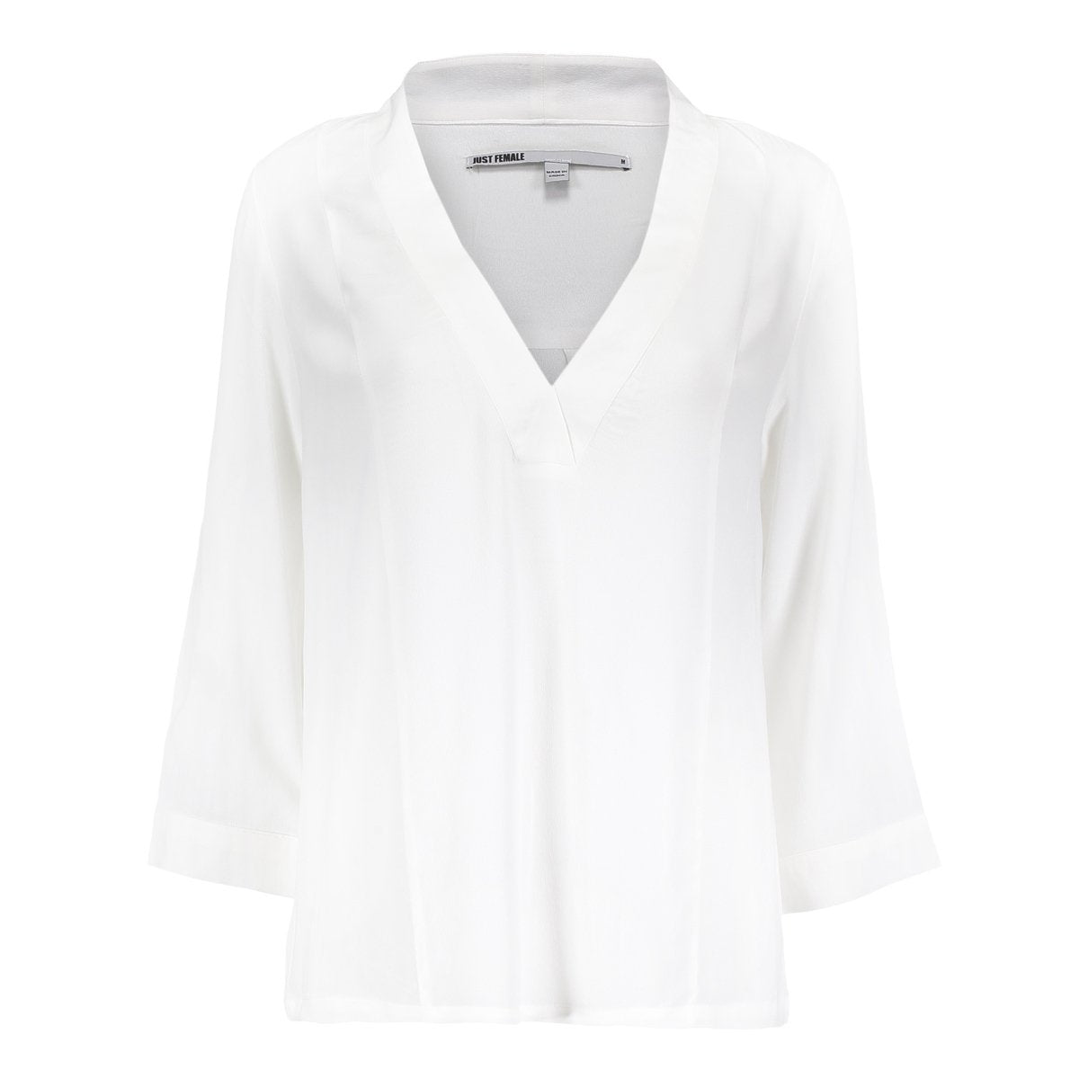 Just Femle Lola Blouse White - Mojo Independent Store