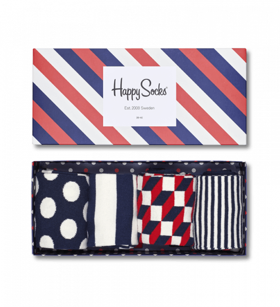 Happy Socks Gift Box (stripe)