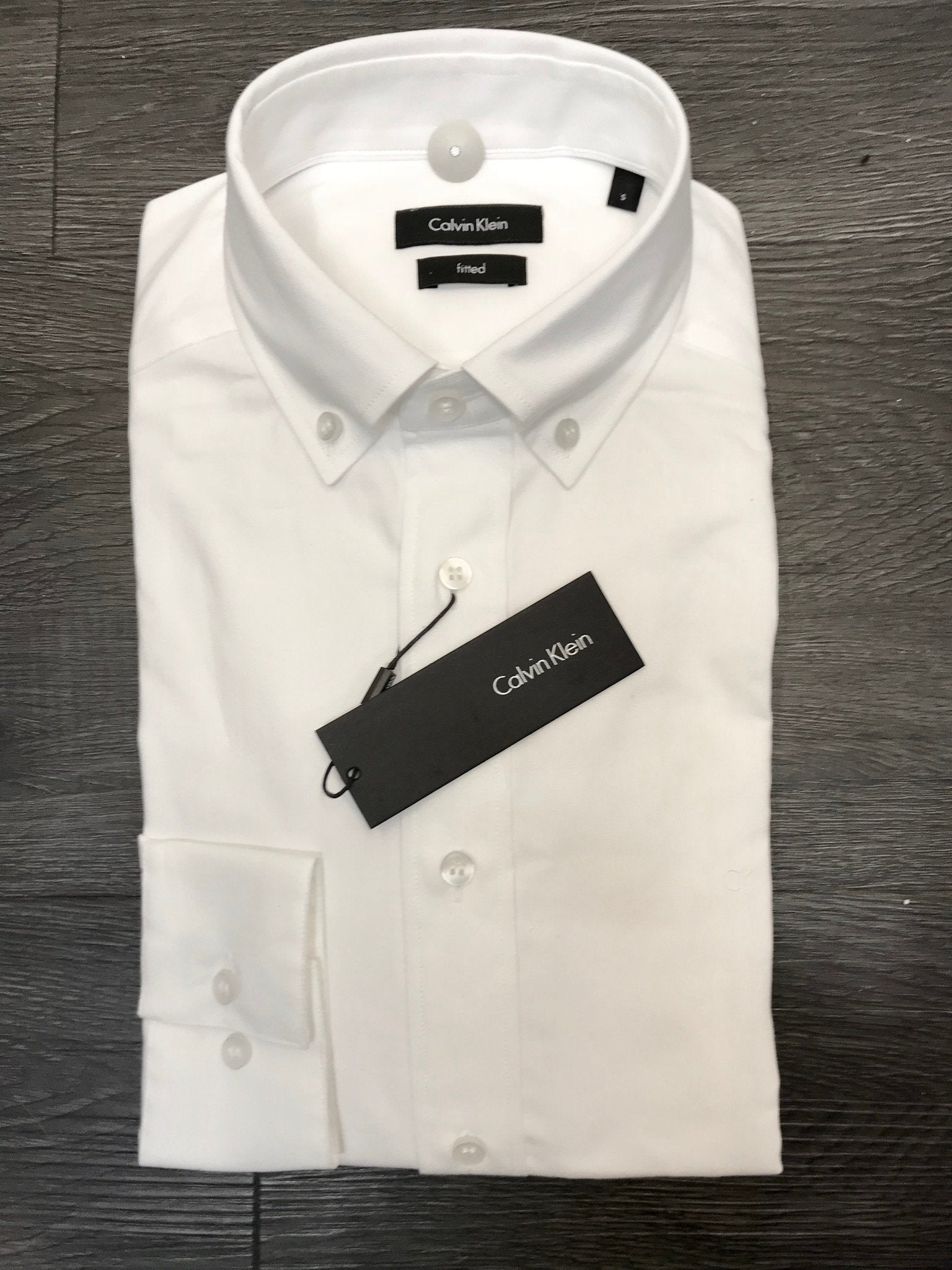 Calvin Klein Galdo_BD Washed Oxfo, Perfect White - Mojo Independent Store