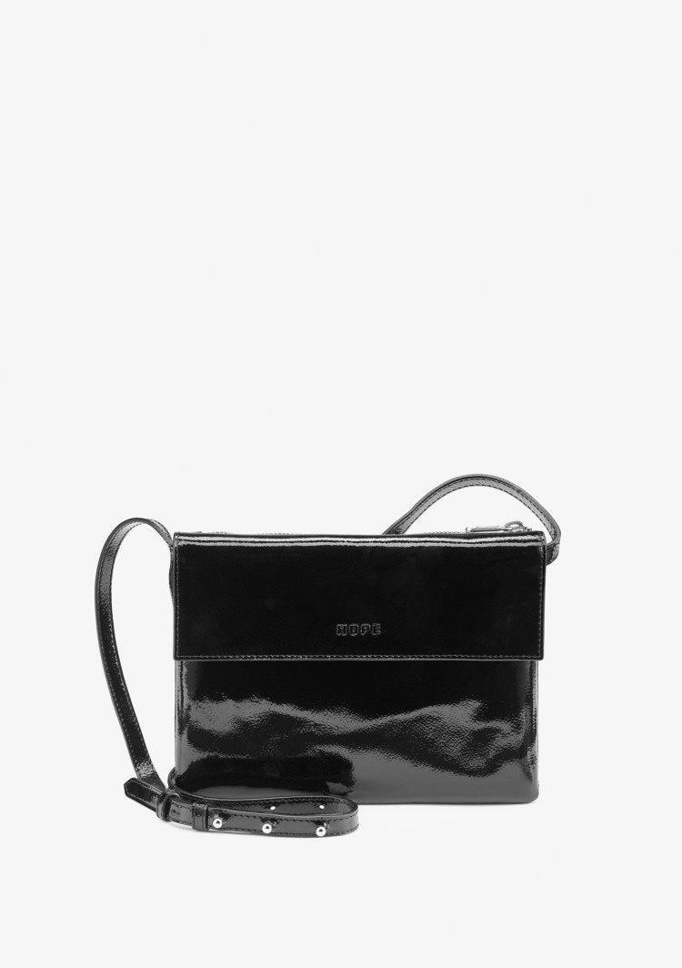 Hope Bring Bag Patent Black - Mojo Independent Store