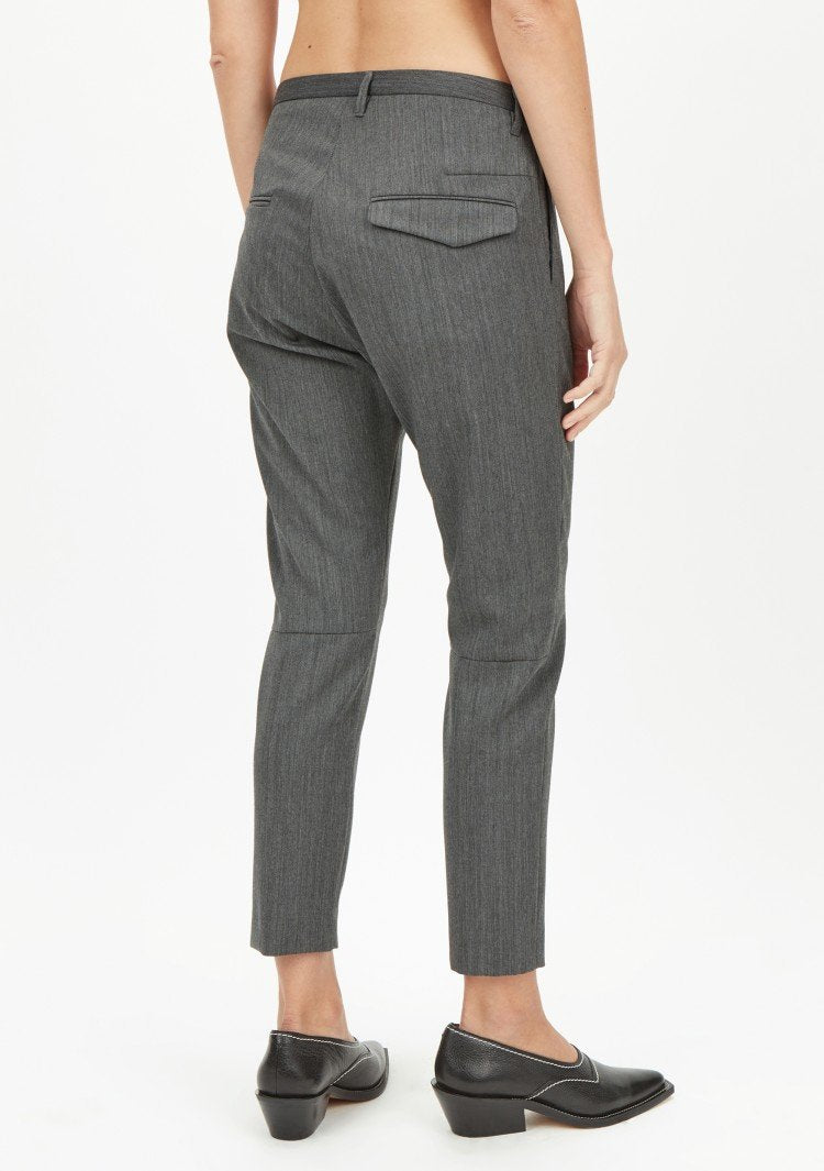 Hope Krissy Trousers Grey Melange - Mojo Independent Store