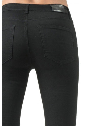 Un Jean Paris Ancle Biker Black
