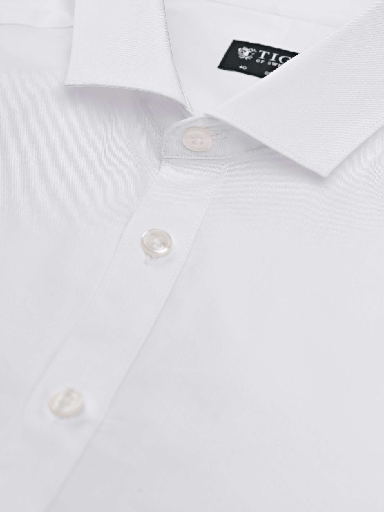 Tiger of Sweden Steel 1 Shirt White - Mojo Independent Store