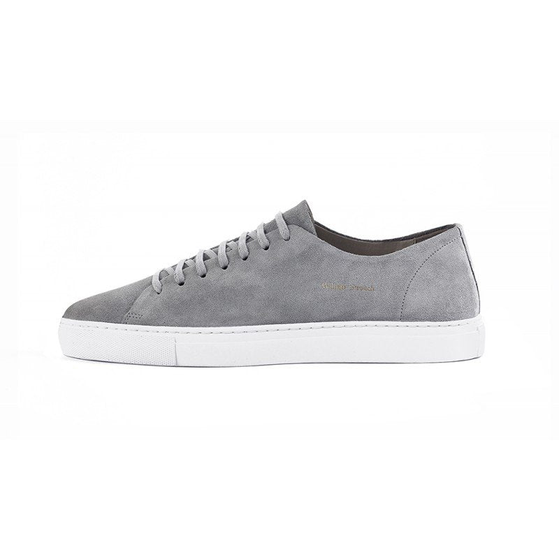 William Strouch Classic Suede Sneakers Grey - Mojo Independent Store