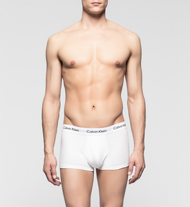 Calvin Klein 3 Pack Cotton Stretch White - Mojo Independent Store