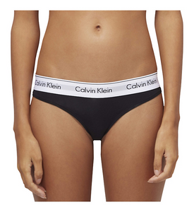 Calvin Klein Modern Cotton Thong, Black - Mojo Independent Store