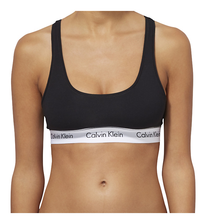 Calvin Klein Modern Cotton Top Black