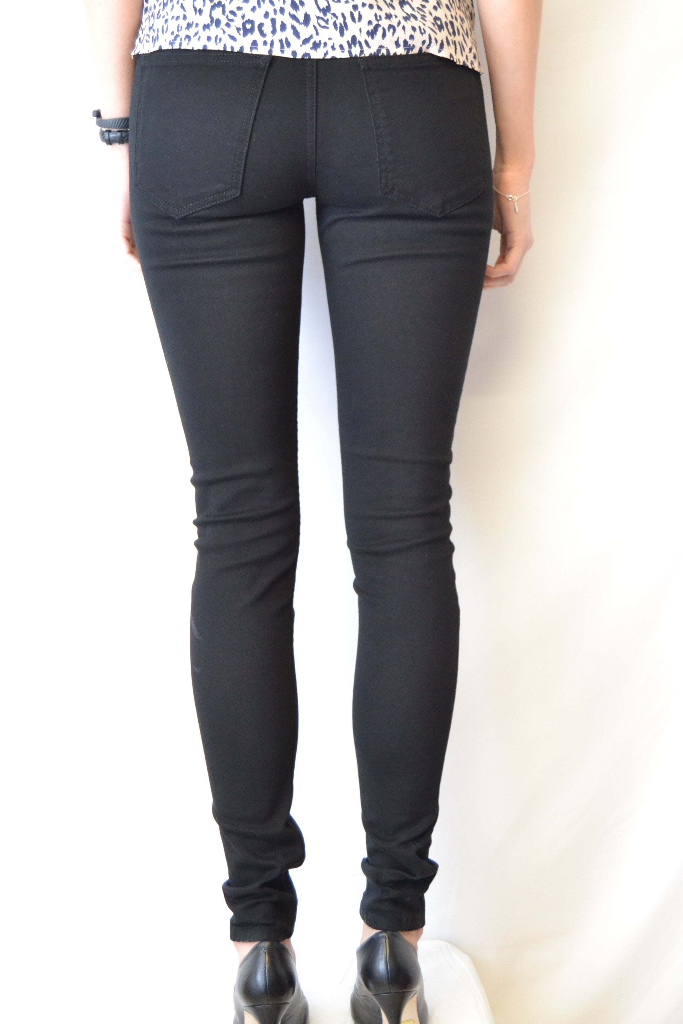 Just Female Stroke Jeans black twill - Mojo Independent Store