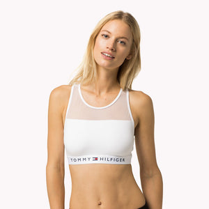 ded5499381d1 Tommy Hilfiger Cotton Mesh Bralette White – Mojo Independent Store