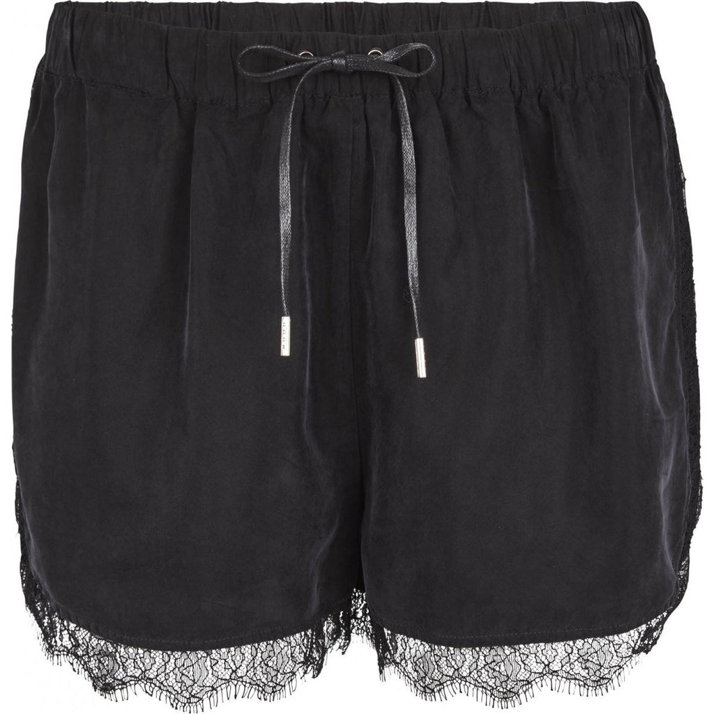 Just Female Quil Shorts Black
