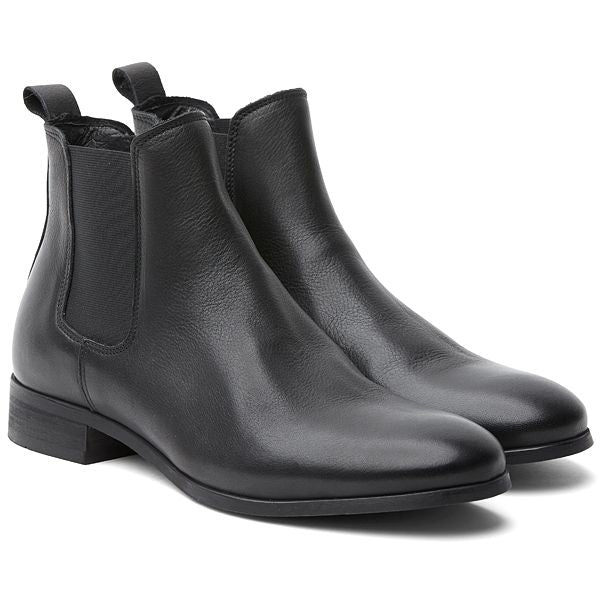 Shoe The Bear Arnie Chelsea Boots Black Leather - Mojo Independent Store