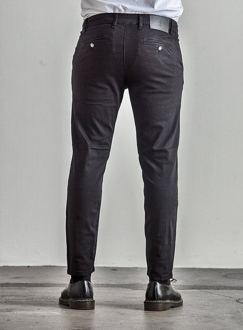 The Blue Uniform Bernta Chino Black - Mojo Independent Store