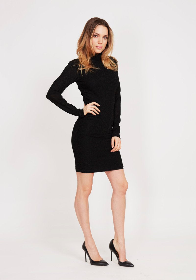 Dry Lake Kelly Dress Sparkling Black - Mojo Independent Store