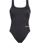 Calvin Klein Swimsuit Square Scoop One Piece Pvh Black