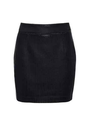 Ivyrevel Chrome Skirt Black