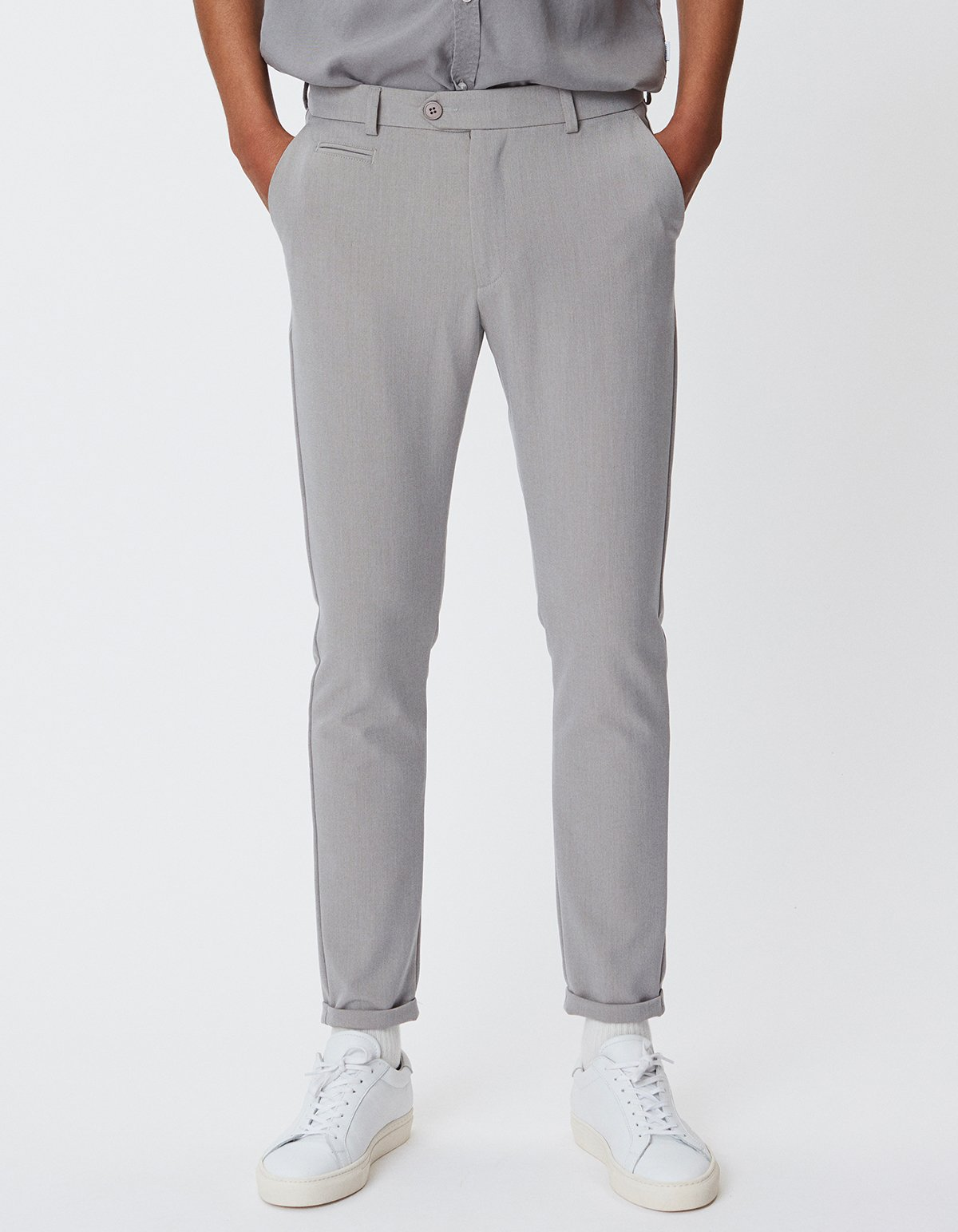 Les Deux Como Light Suit Pants Mirage Grey