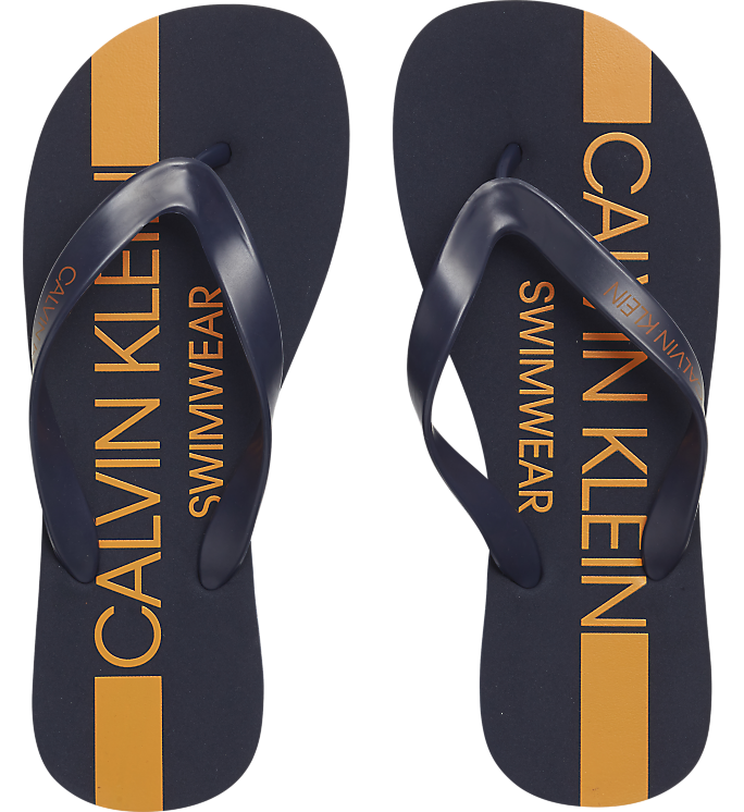 Calvin Klein FF Sandals Blue Shadow