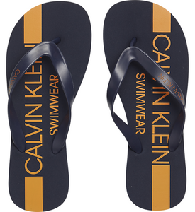 Calvin Klein FF Sandals Blue Shadow - Mojo Independent Store