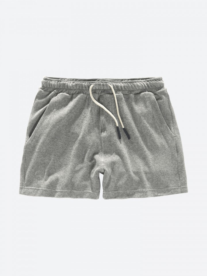 Oas Grey Melange Terry Shorts - Mojo Independent Store