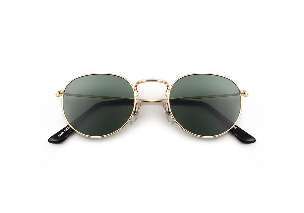 A.Kjaerbede Hello Gold Green Lens - Mojo Independent Store