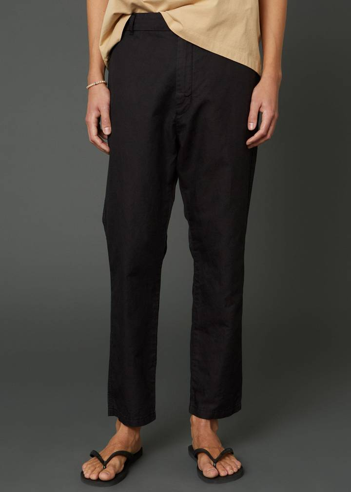 Hope Edwin Edit Trousers Washed Black