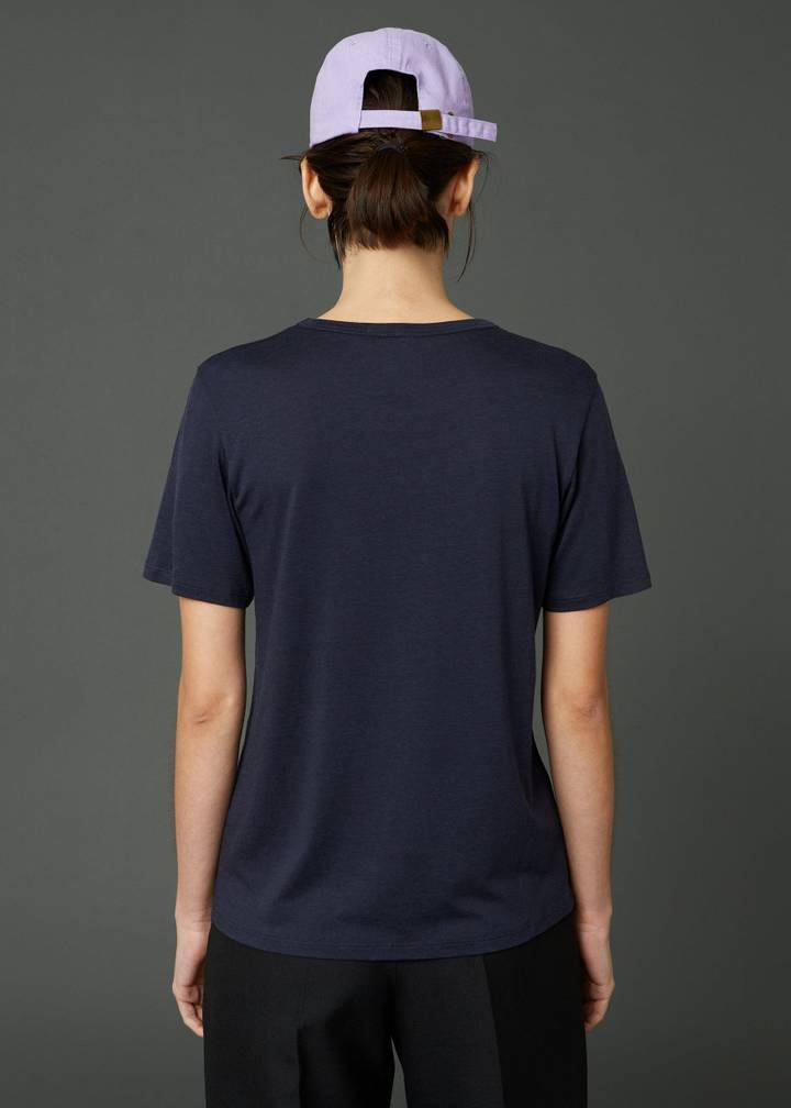 Hope One Edit Tee Dk Navy
