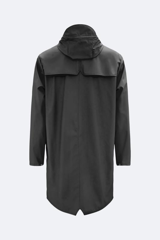 Rains Long Jacket Black - Mojo Independent Store