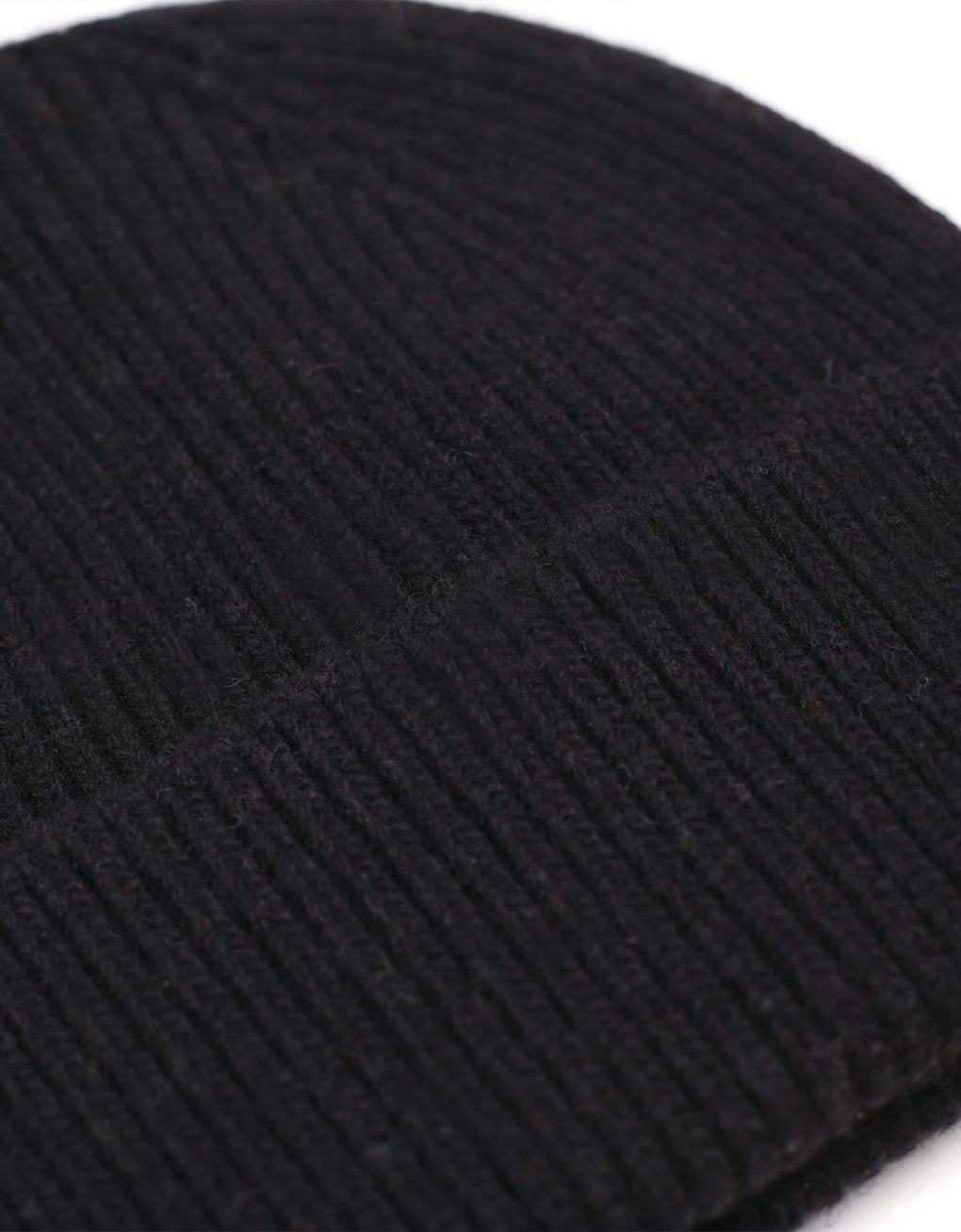 Colorful Standard Merino Wool Beanie Deep Black