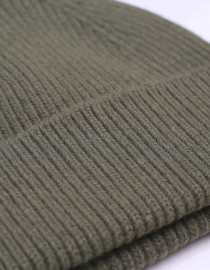 Colorful Standard Merino Wool Beanie Dusty Green
