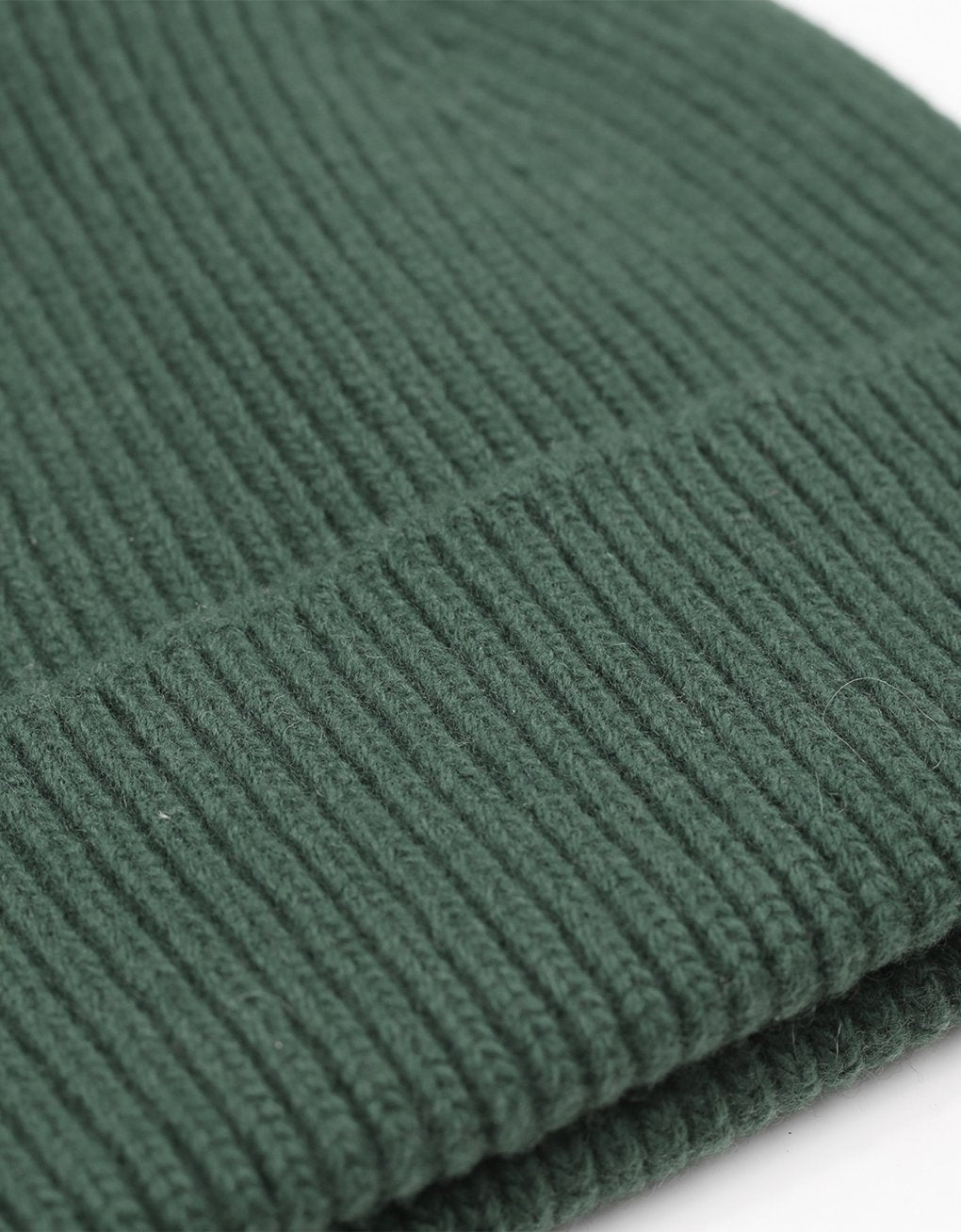 Colorful Standard Merino Wool Beanie Emerald Green