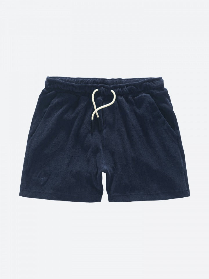 Oas Navy Terry Shorts - Mojo Independent Store