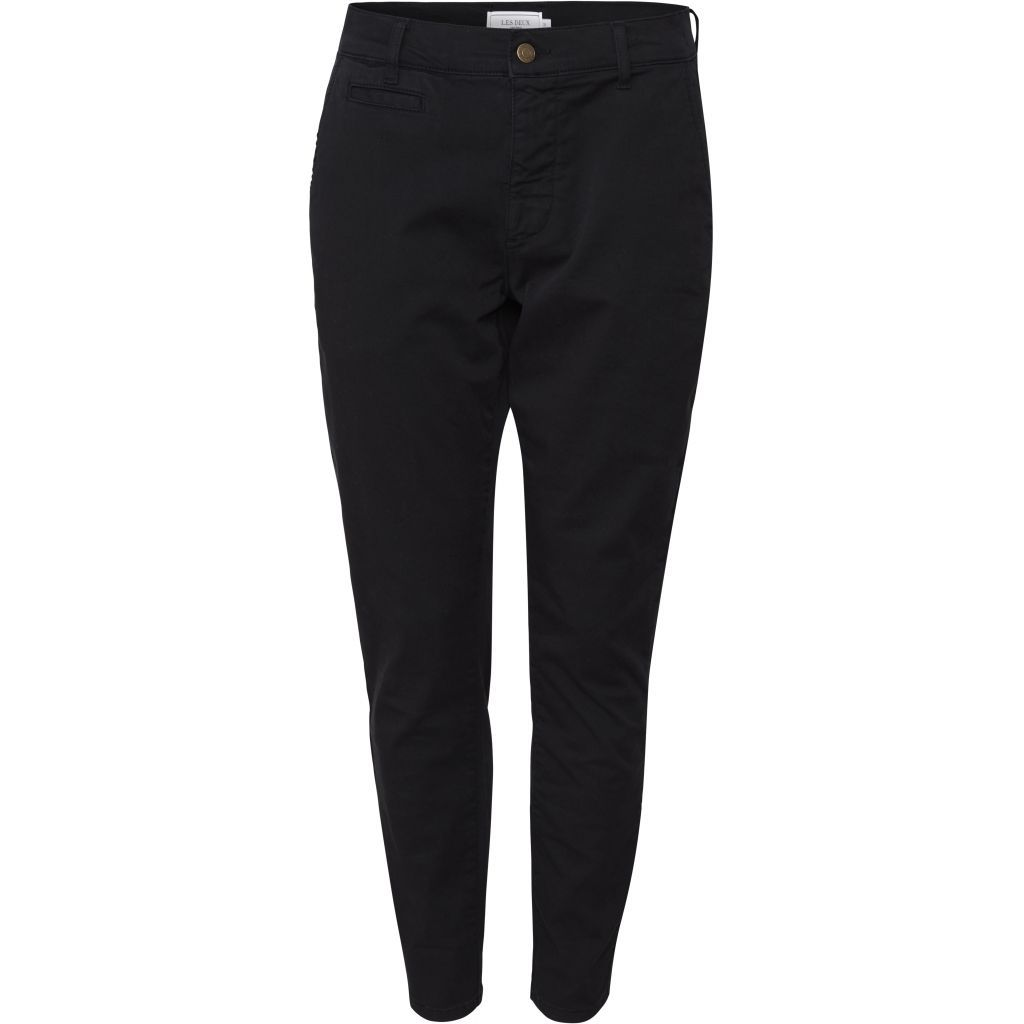 Les Deux Orta Chino Pants Black - Mojo Independent Store