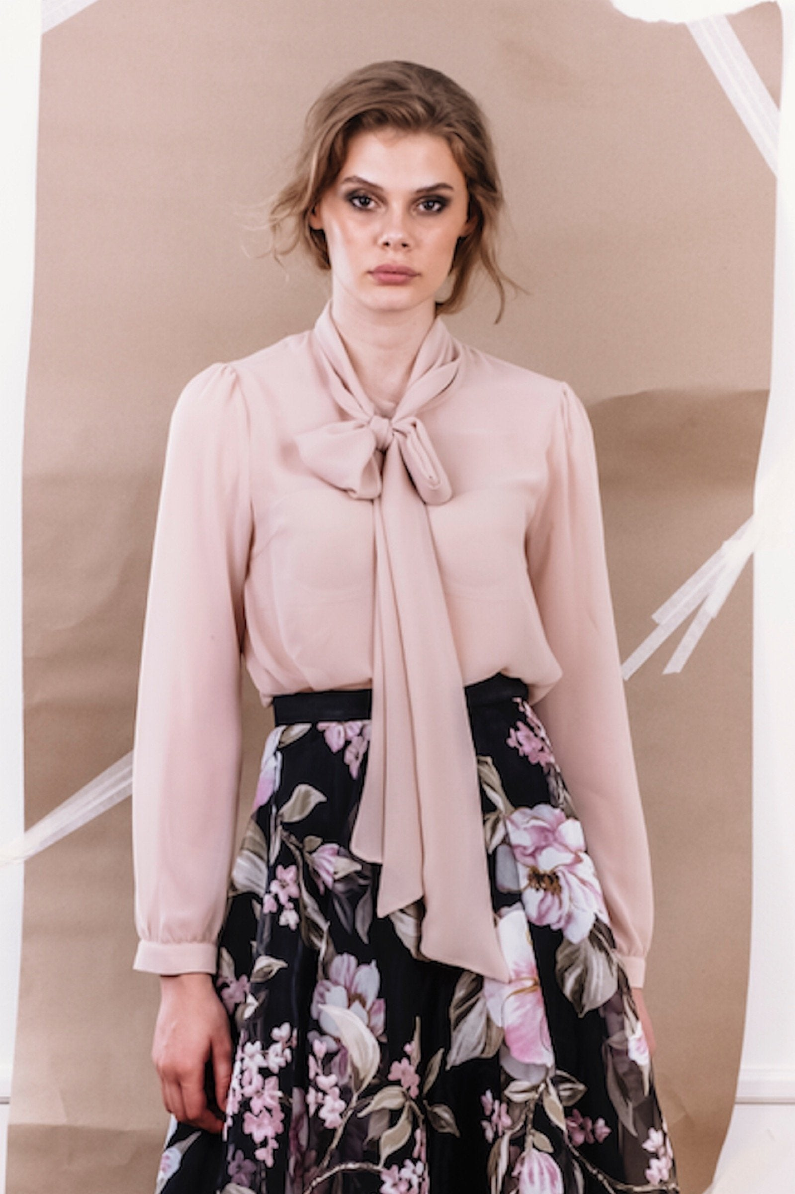 Ida Sjöstedt Peony Blouse Mocha - Mojo Independent Store