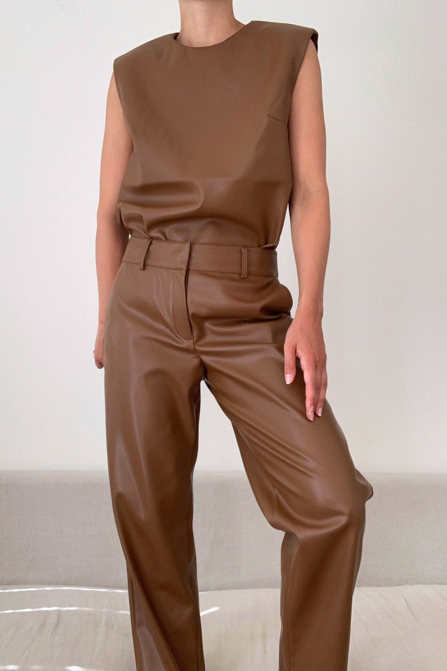 Stylein Verde Trousers Brown