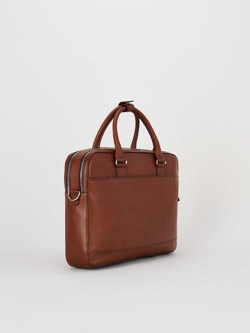 Tiger Of Sweden Burin Briefcase Brown - Mojo Independent Store