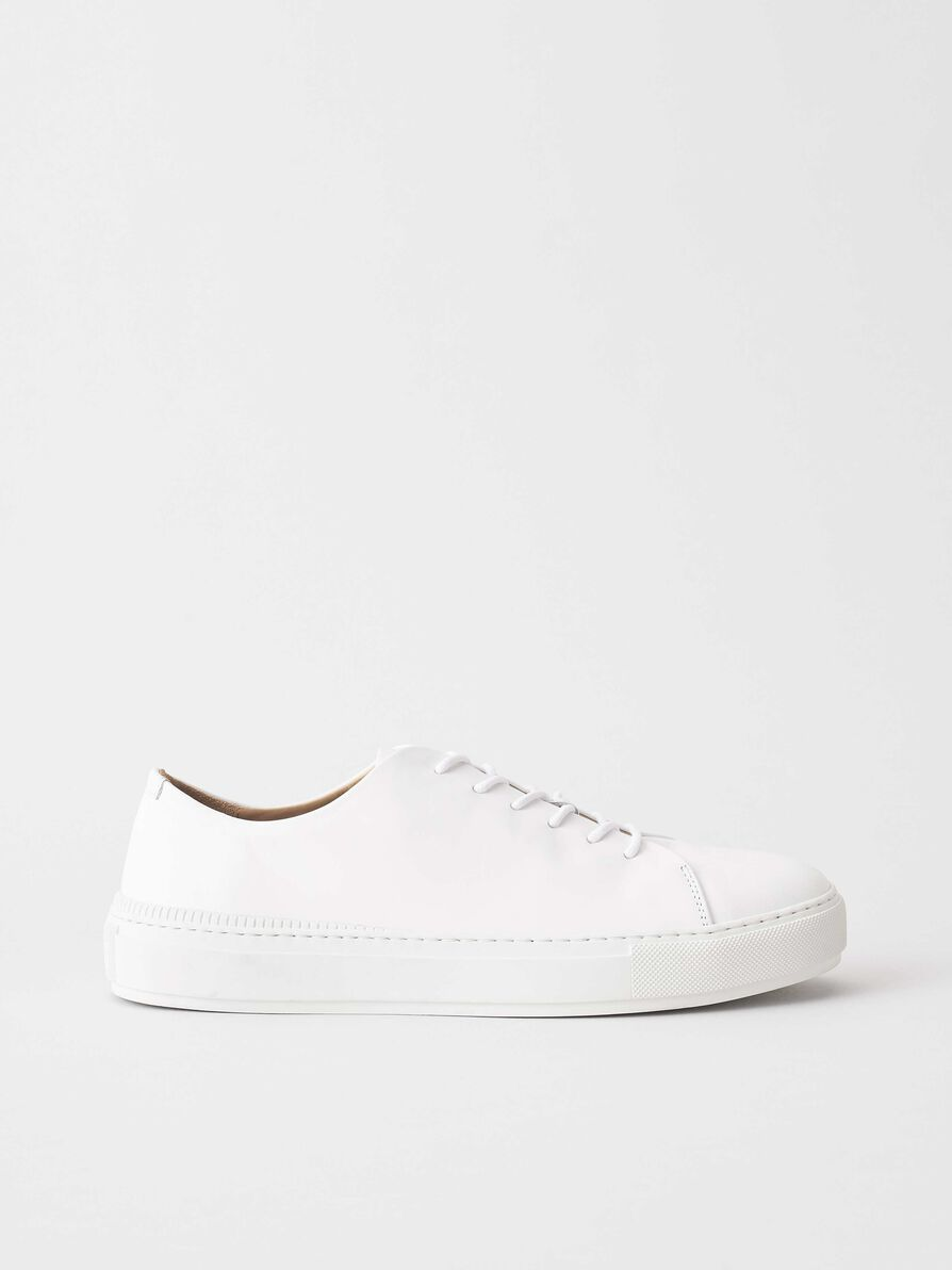 Tiger Of Sweden Sampe Sneaker White - Mojo Independent Store