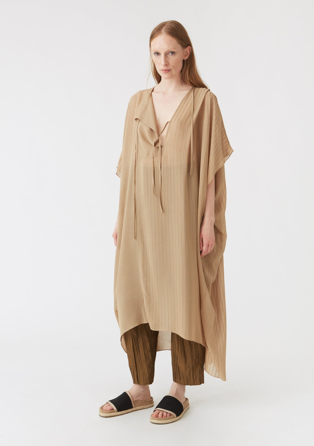 Hope Chant Kaftan Beige - Mojo Independent Store