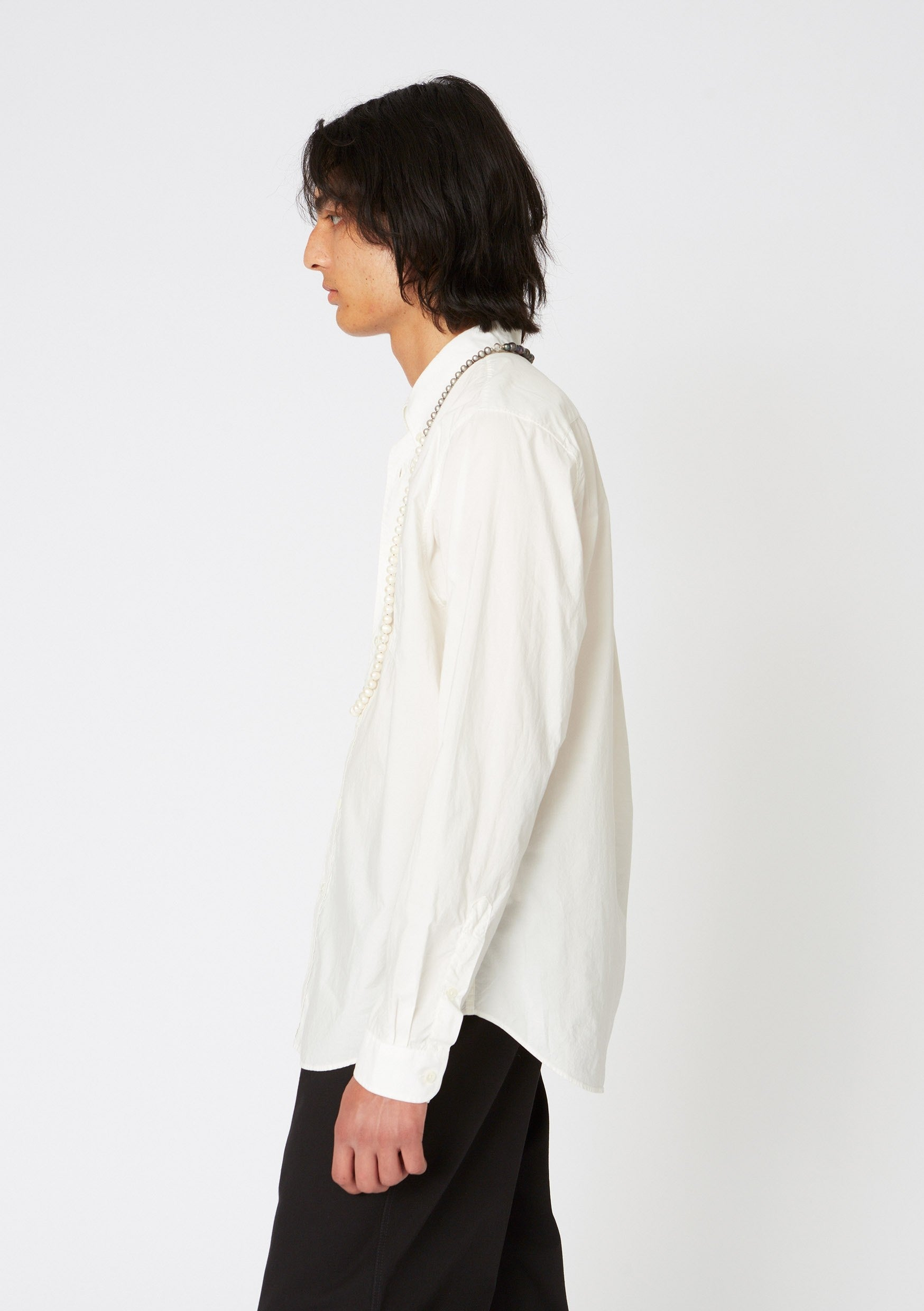 Hope Button Shirt Off-White
